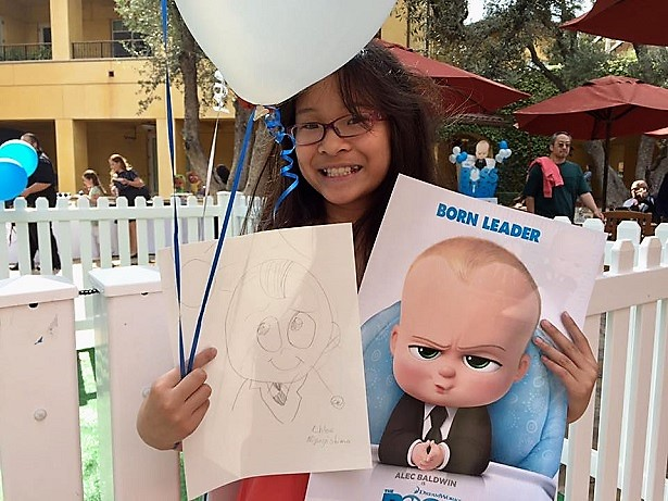 The Boss Baby - Drawing the Character