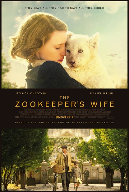 The Zookeeper's Wife One Sheet