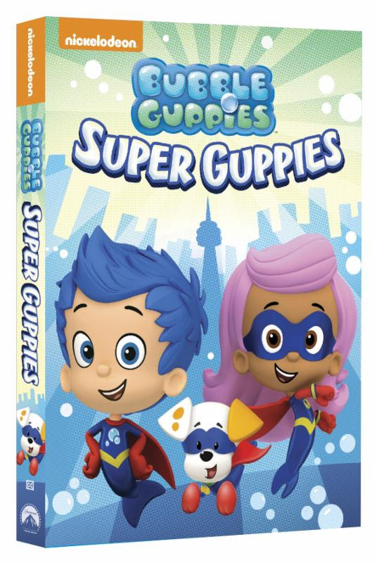 Bubble Guppies Side Angle DVD Image