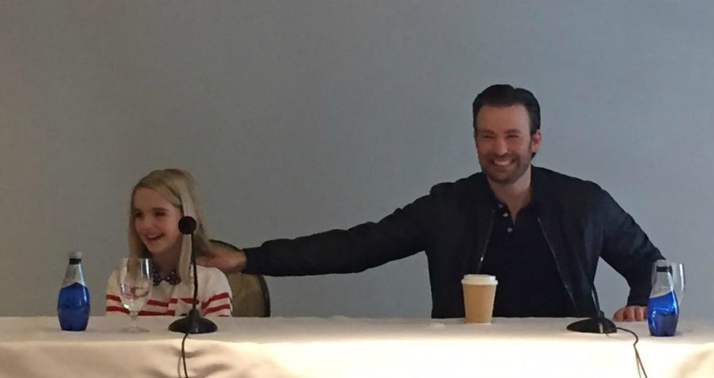 Gifted - Press Junket 1