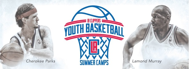 LA Clippers Youth Summer Camps Cherokee Parks and Lamond Murray