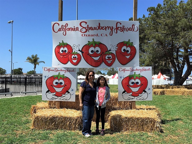 Ca Strawberry Festival Signage