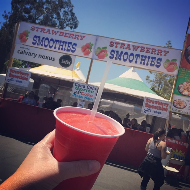 Ca Strawberry Festival Smoothie