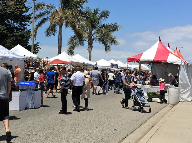 CA Strawberry Festival Vendor Booths