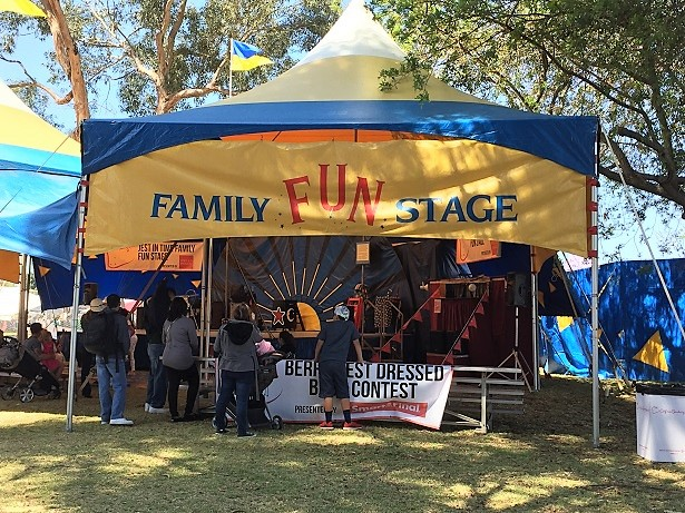 Ca Strawberry Festival Family Stage