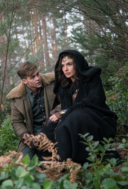Wonder Woman Gal Gadot and Chris Pine
