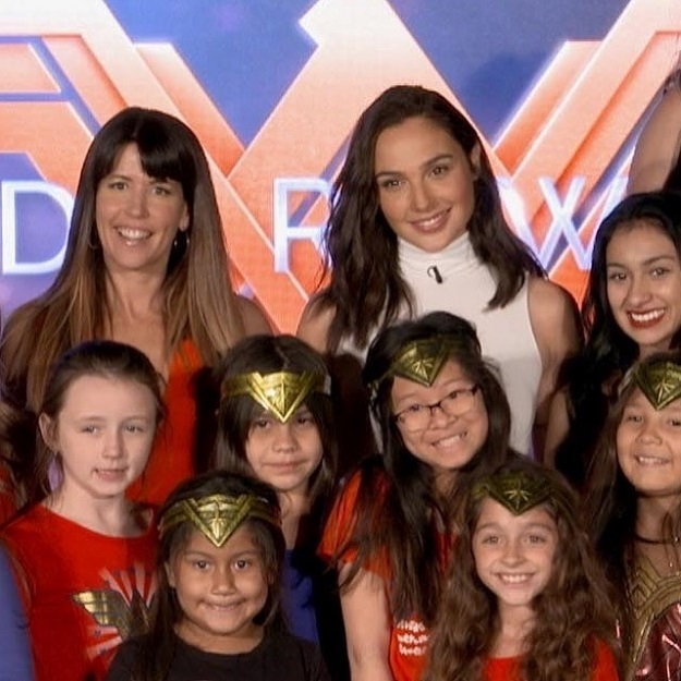 Wonder Woman Meeting Gal Gadot and Patty Jenkins
