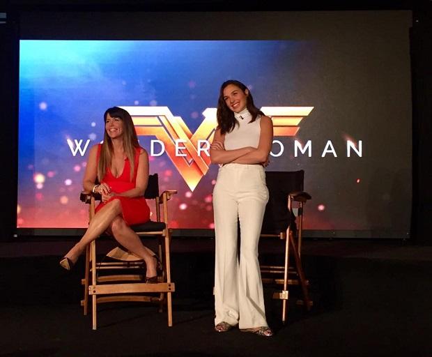 Wonder Woman Patty Jenkins and Gal Gadot