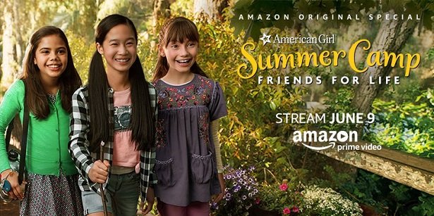 American Girl Story_Summer Camp Poster