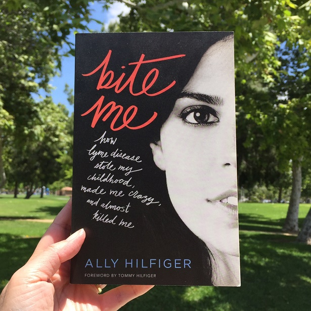 Ally Hilfiger - Bite Me the Book_Cover Photo Outdoors