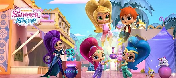 Shimmer and Shine - Group Photo