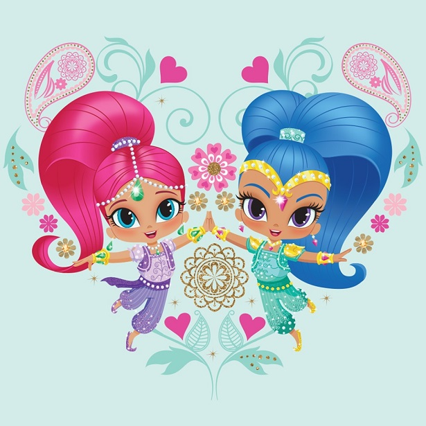 Shimmer and Shine High Five