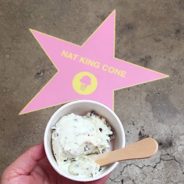 Museum of Ice Cream Coolhaus Dirty Mint Chip