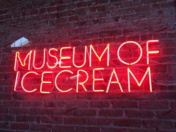 Museum of Ice Cream Neon Sign