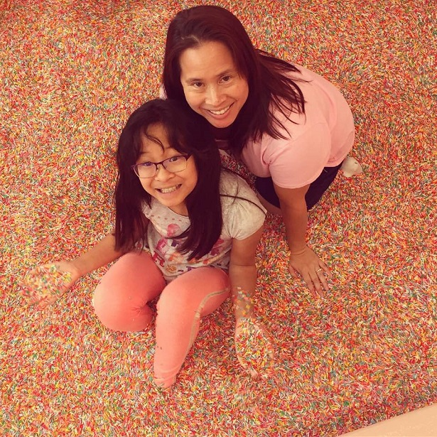 Museum of Ice Cream Us in the Sprinkle Pool