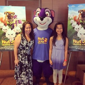 Meeting the Cast of The Nut Job 2: Nutty by Nature