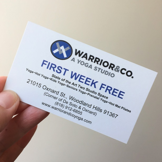 Warrior and Co Free Week