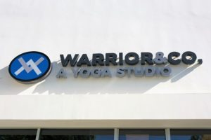 Warrior and Co Signage