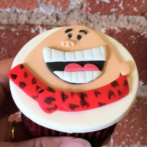 Captain Underpants Cupcake