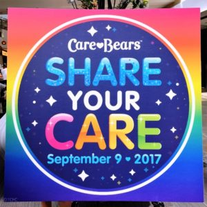 Care Bears - Share Your Care Day Signage