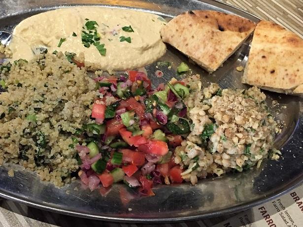 Stonefire Test Kitchen Specials Mediterranean Salad Platter