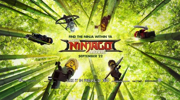 The LEGO Ninjago Movie Banner