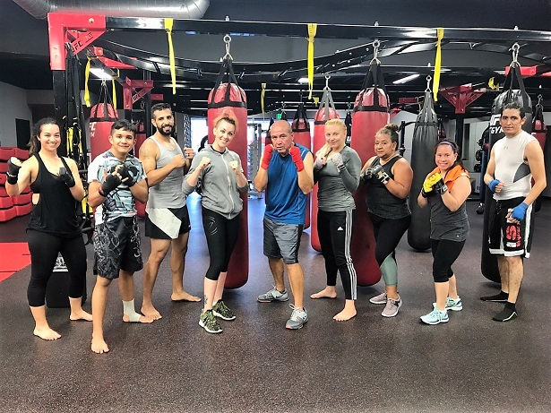 UFC Gym Northridge Class with Maria