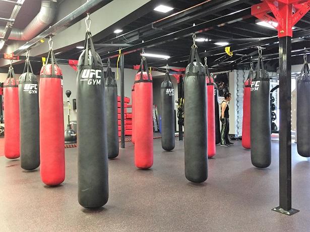 UFC Gym Northridge Heavy Bag Area