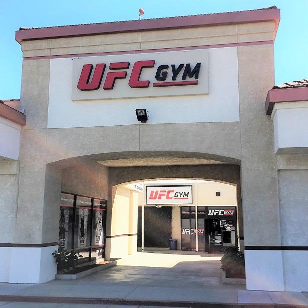 UFC Gym Northridge Signage