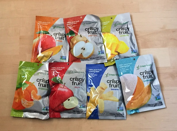 Crispy Fruit Snacks Product Line