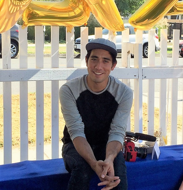 Fresh Step Interview with Zach King