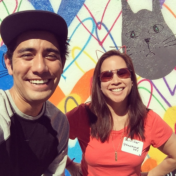 Fresh Step Selfie with Zach King