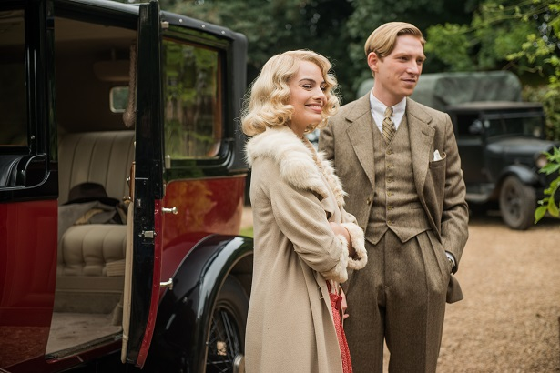 Goodbye Christopher Robin Margot Robbie and Domhnall Gleeson