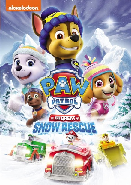 PAW Patrol Great Snow Rescue Front DVD