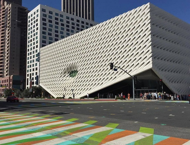The Broad DTLA Crosswalk