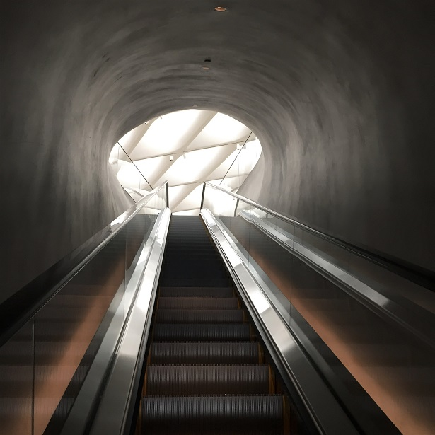 The Broad Escalator
