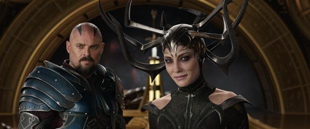 Thor Ragnarok Skurge and Hela