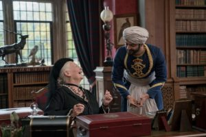 Victoria and Abdul Laughing