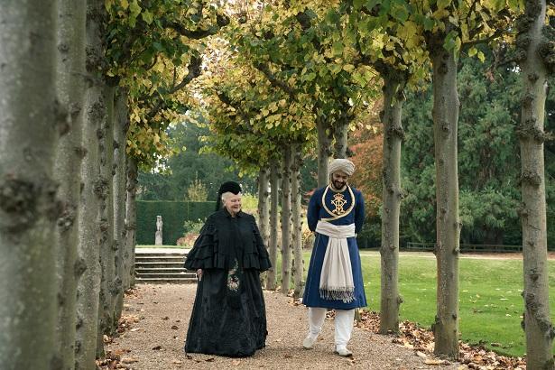 Victoria and Abdul Walking