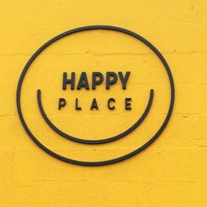 Happy Place DTLA Signage
