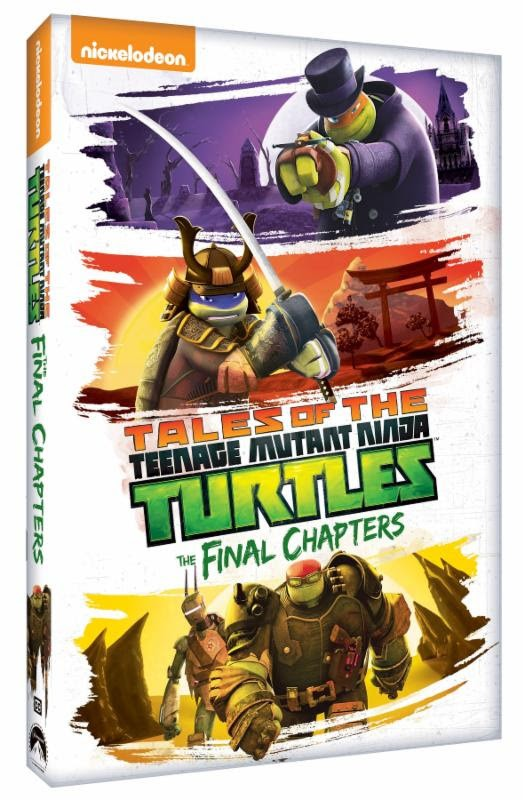 Teenage Mutant Ninja Turtles The Final Chapters DVD Cover