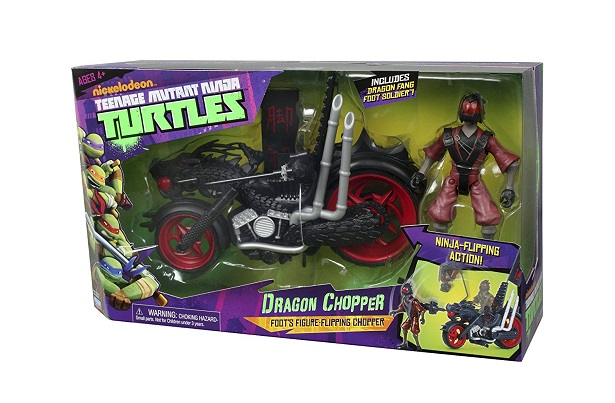 Teenage Mutant Ninja Turtles The Final Chapters Dragon Chopper Toy