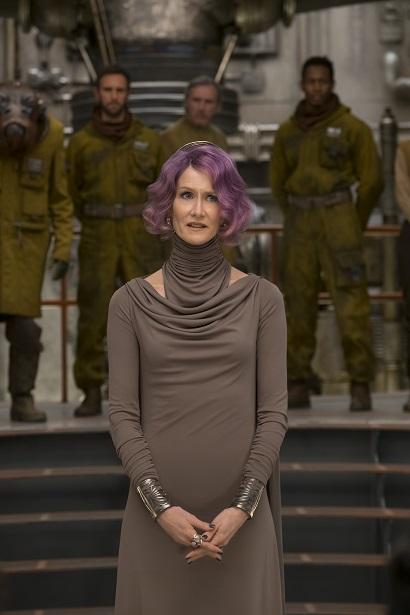 Last Jedi Amilyn Holdo - Laura Dern