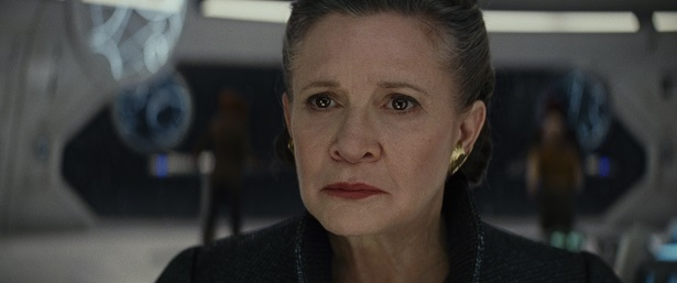 Last Jedi Carrie Fisher