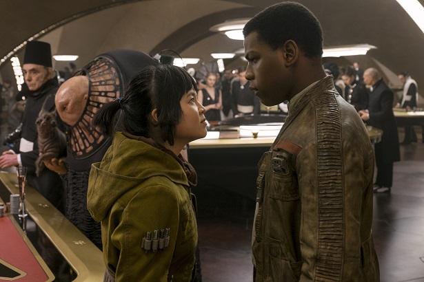 Last Jedi - Rose Tico and Finn