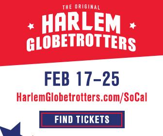 Harlem Globetrotters SoCal Dates