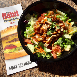 Sesame Ginger Salad at The Habit Burger Grill