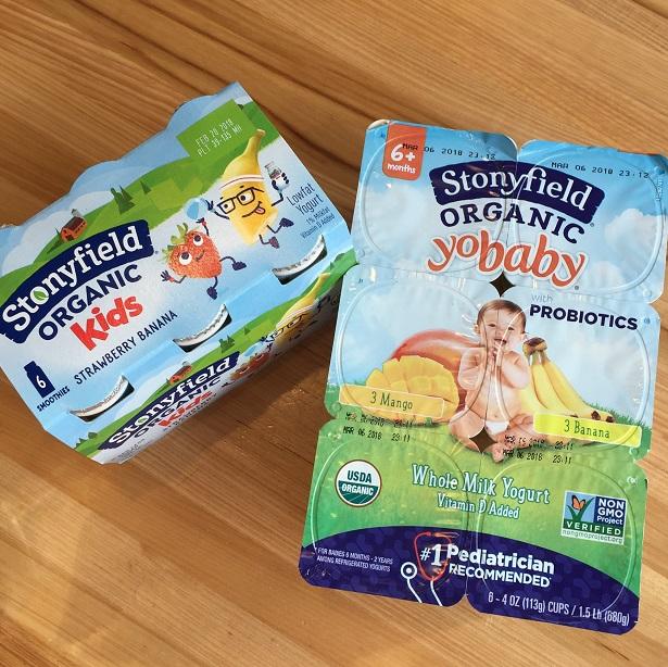 Stonyfield YoBaby organic yogurt
