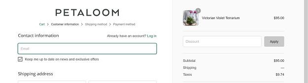 Petaloom Discount Code