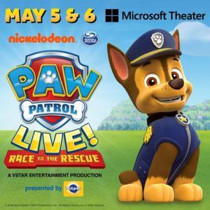 PAW Patrol Live 2018